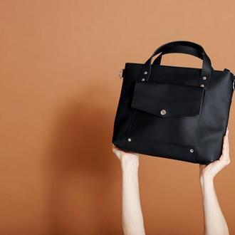 Жіноча сумка класична | Гарна шкіряна сумка