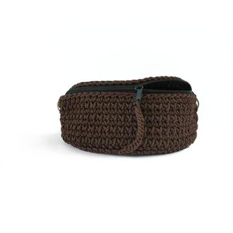 Поясная сумка из шнура