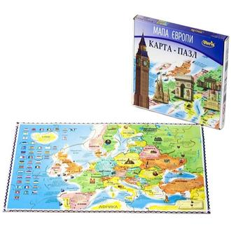 Карта-пазл Uteria «Карта Европы»