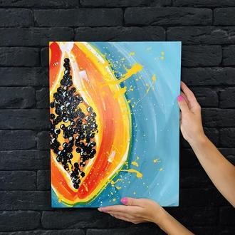 Картина «папайя»