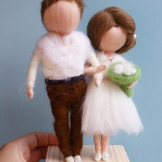 Игрушки свадебные куклы пара