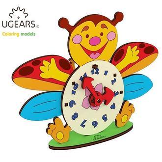 Деревянная раскраска Ugears «Часы»