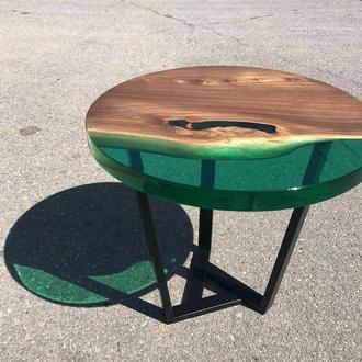 Круглый стол из слэба