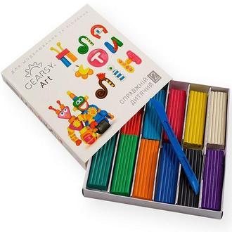 Пластилин детский «Gearsy Art», набор из 12 цветов