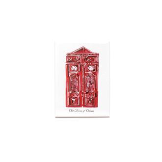 Магнитик «Одесские двери» (Красные)