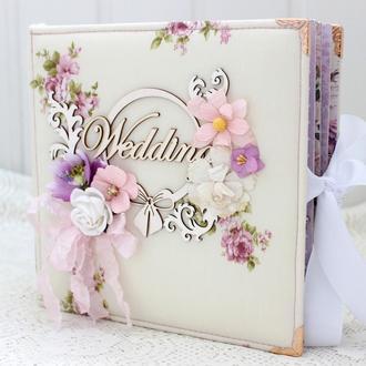 Свадебный альбом, свадебный фотоальбом , подарок на свадьбу