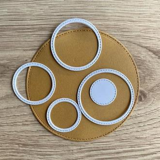Вырубка ′Рамка - круг′.