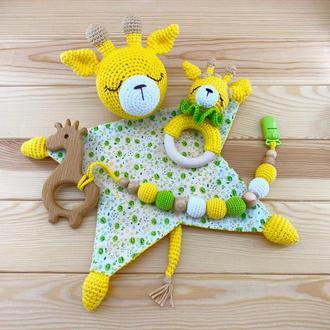 Комплект игрушек для новорожденного, Жирафик