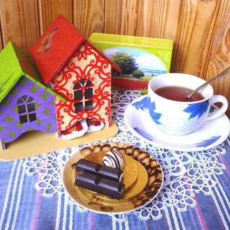 Чайные домики для двух видов чая