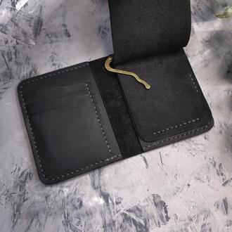 Мужское кожаное портмоне с зажимом Stedley