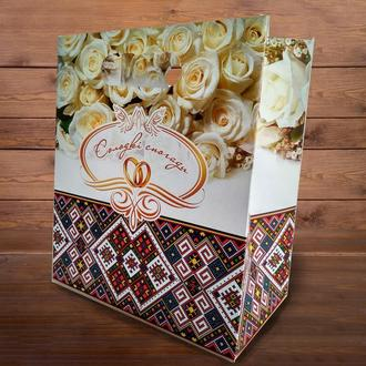 Пакет для каравая или торта в украинском стиле (арт. C-0067)