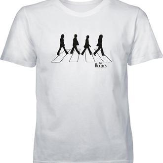 Футболка с принтом. THE BEATLES. Abbey Road