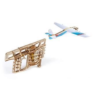 """Механічний 3D-конструктор Ugears """"Пускач літачків"""""""