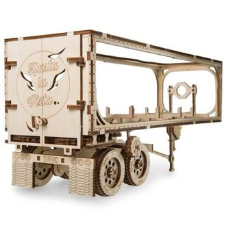 """Механічний 3D-конструктор Ugears """"Напівпричіп до моделі «Тягач VM-03»"""""""