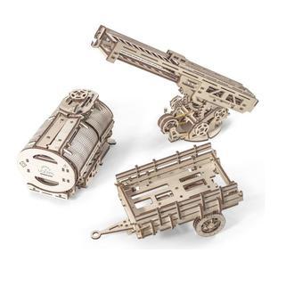 """Механический 3D-конструктор Ugears """"Набор дополнений к модели «Грузовик UGM-11»"""""""