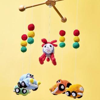 Машинки дитячий мобіль для хлопчика/ Машинки дитячий мобіль для хлопчика