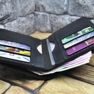 Вертикальный кожаный кошелек K62-0+450