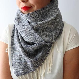 Тканый шарф Деним