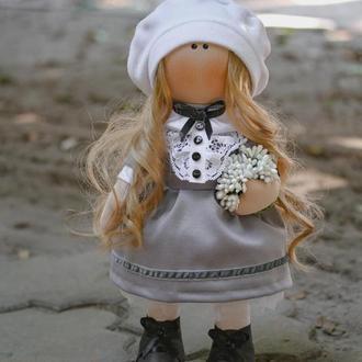 Игрушка кукла Школьница