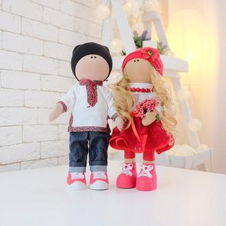 Пара украинские куклы Свадебные