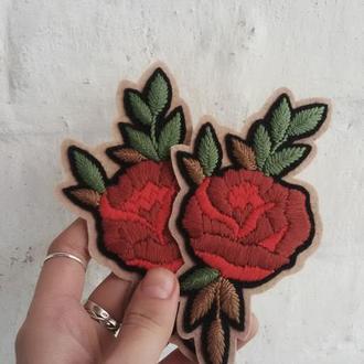 """Нашивка """"Роза"""""""