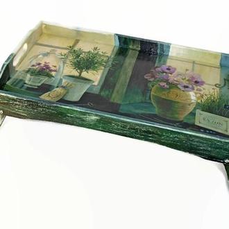 Поднос-столик «Прованс»