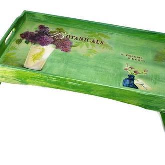 Поднос-столик «Ботаник»