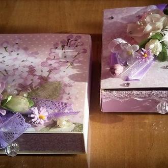 Привітальні конверти-коробочки на замовлення