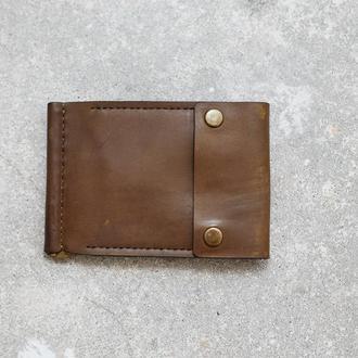Зажим для денег (MZ001 olive)