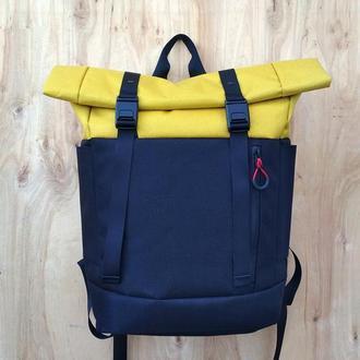 Городской рюкзак Kona Voyager Black/Yellow