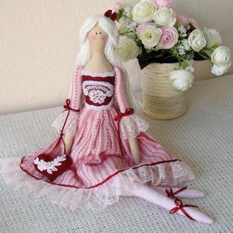 Кукла в стиле Тильда Розалинда 48см