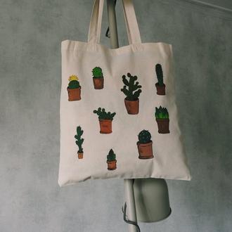 Еко-сумка Кактусы