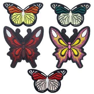 Термоаппликации (нашивки) Embroidery БАБОЧКИ набор №1 (67796)