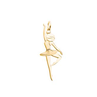 Кулон-подвеска Pole Dance Балерина BOSNEX Sexy Necklace Pendant Золото (JGP-0109)