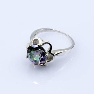 Серебряное кольцо Мистик