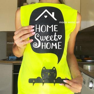"""Настенная ключница """"Home Sweet Home"""""""
