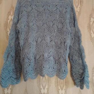 Джемпер блакитний
