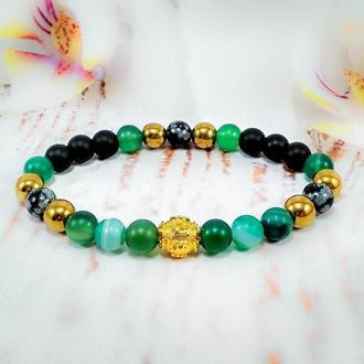 """Фэн-шуй браслет из натуральных камней """"Медитация"""""""