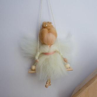 Кукла валяние шерсти