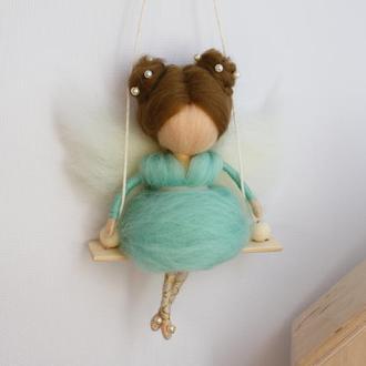 Кукла на качели Фея