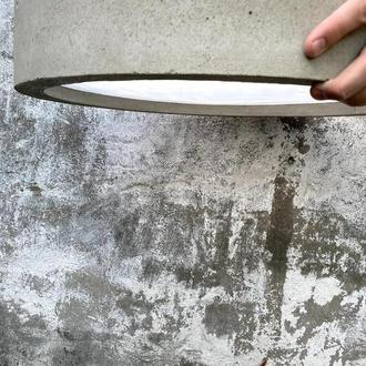"""Люстра из бетона """"Милан"""""""