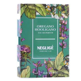 OREGANO HOOLIGANO – кричаще-свежий, сочно-зеленый парфюм унисекс.