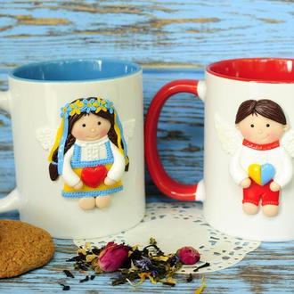Набор чашек ♥Ukraine