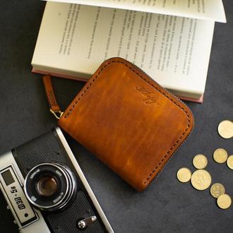 Компактный кошелёк на молнии ZIP