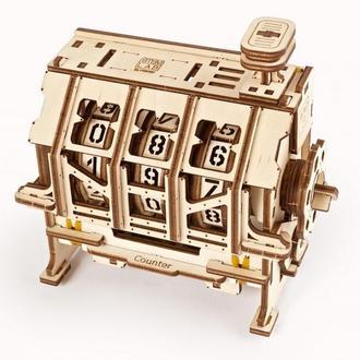 """Механічний 3D-конструктор Ugears """"Механічна STEM-модель «Лічильник»"""""""