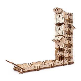 """Механический 3D-конструктор Ugears """"Механический девайс: Модульний Дайс Тауэр для настольных игр"""""""