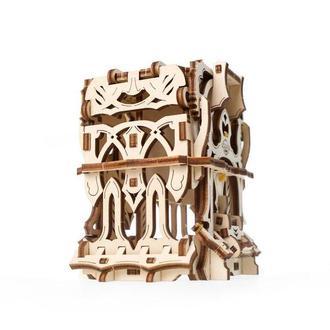 """Механический 3D-конструктор Ugears """"Дек Бокс: девайс для настольных игр"""""""