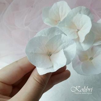 Шпильки для волосся украшение для волос с цветами гортензии