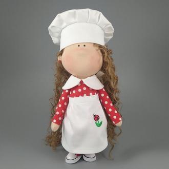 Интерьерная кукла помощница