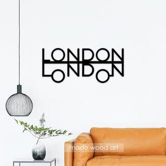 "Деревянная надпись ""LONDON"""